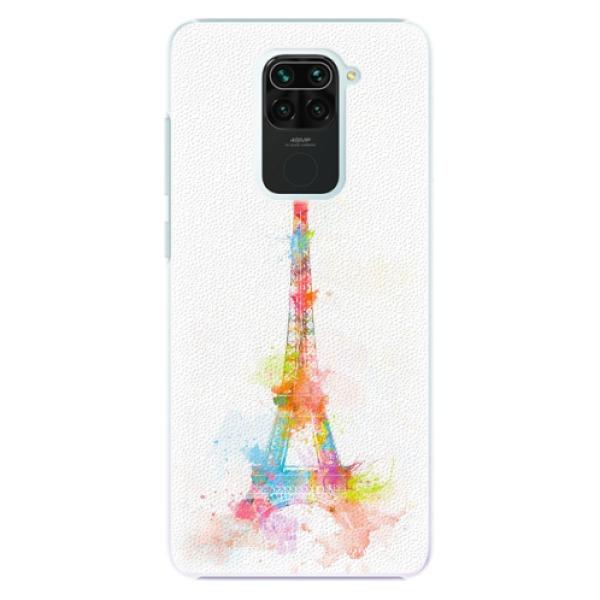 Plastové pouzdro iSaprio - Eiffel Tower - Xiaomi Redmi Note 9