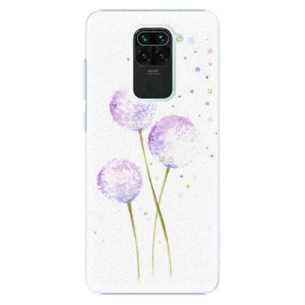 Plastové pouzdro iSaprio - Dandelion - Xiaomi Redmi Note 9