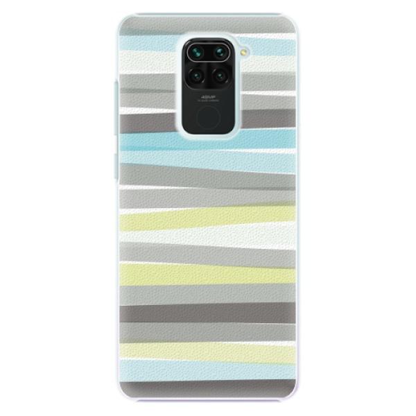 Plastové pouzdro iSaprio - Stripes - Xiaomi Redmi Note 9