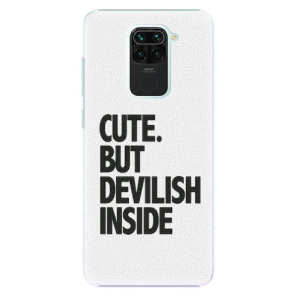 Plastové pouzdro iSaprio - Devilish inside - Xiaomi Redmi Note 9