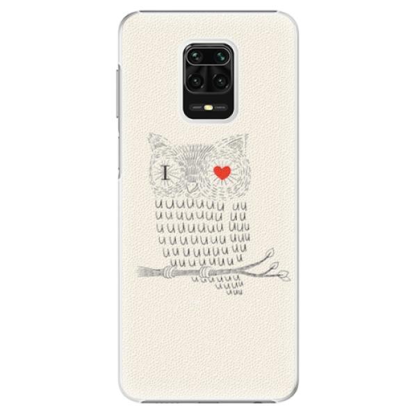 Plastové pouzdro iSaprio - I Love You 01 - Xiaomi Redmi Note 9 Pro / Note 9S