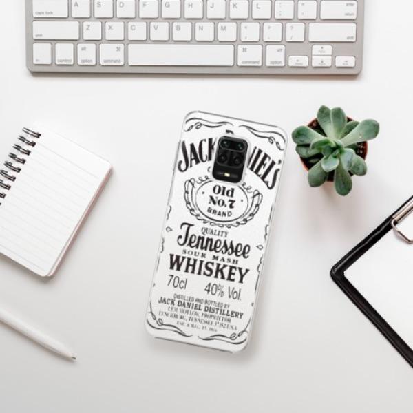 Plastové pouzdro iSaprio - Jack White - Xiaomi Redmi Note 9 Pro / Note 9S