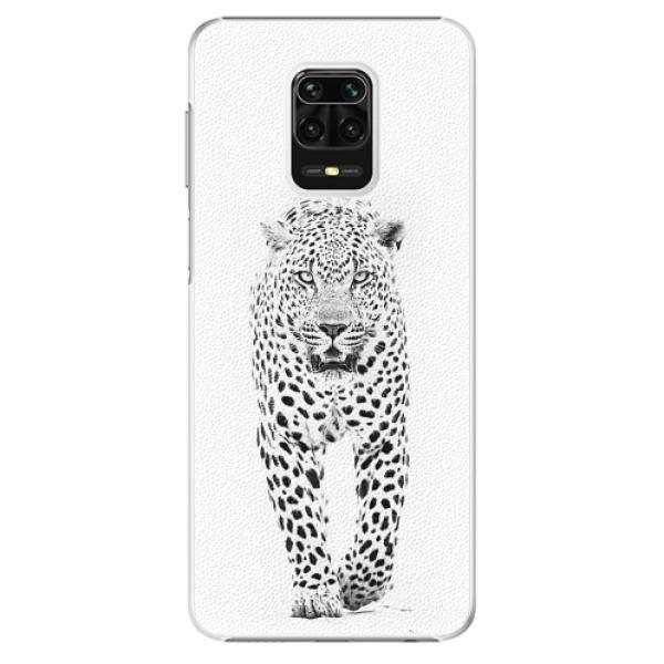 Plastové pouzdro iSaprio - White Jaguar - Xiaomi Redmi Note 9 Pro / Note 9S