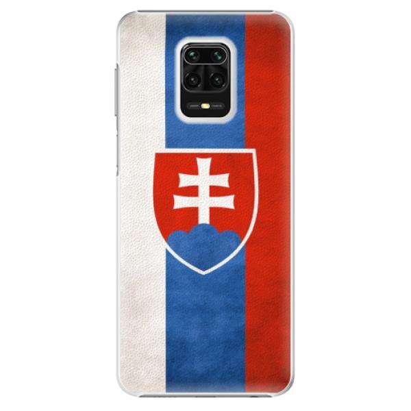 Plastové pouzdro iSaprio - Slovakia Flag - Xiaomi Redmi Note 9 Pro / Note 9S
