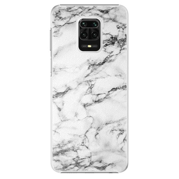 Plastové pouzdro iSaprio - White Marble 01 - Xiaomi Redmi Note 9 Pro / Note 9S