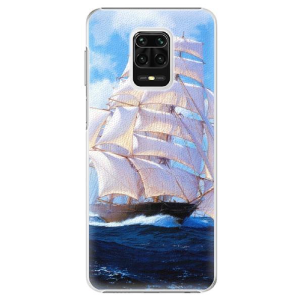 Plastové pouzdro iSaprio - Sailing Boat - Xiaomi Redmi Note 9 Pro / Note 9S