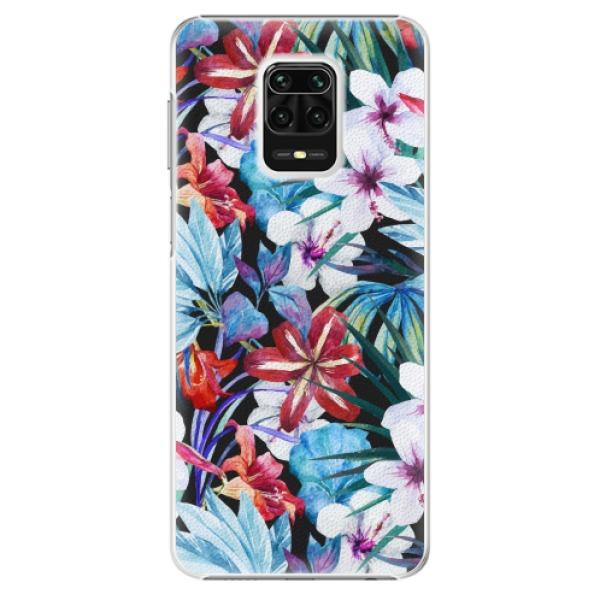 Plastové pouzdro iSaprio - Tropical Flowers 05 - Xiaomi Redmi Note 9 Pro / Note 9S