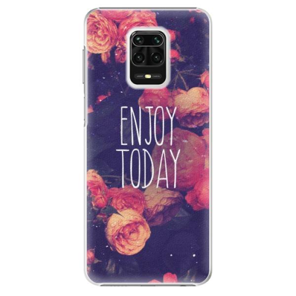 Plastové pouzdro iSaprio - Enjoy Today - Xiaomi Redmi Note 9 Pro / Note 9S