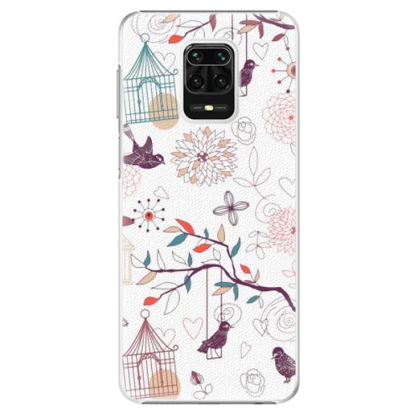 Plastové pouzdro iSaprio - Birds - Xiaomi Redmi Note 9 Pro / Note 9S