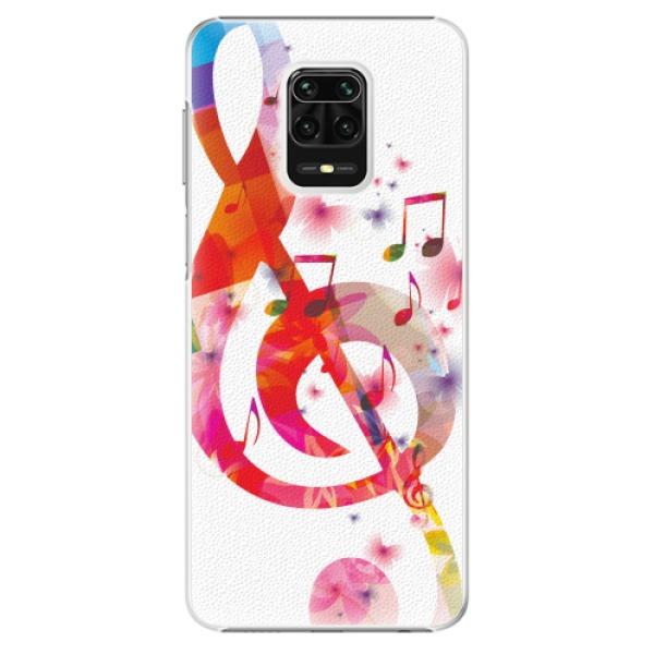 Plastové pouzdro iSaprio - Love Music - Xiaomi Redmi Note 9 Pro / Note 9S