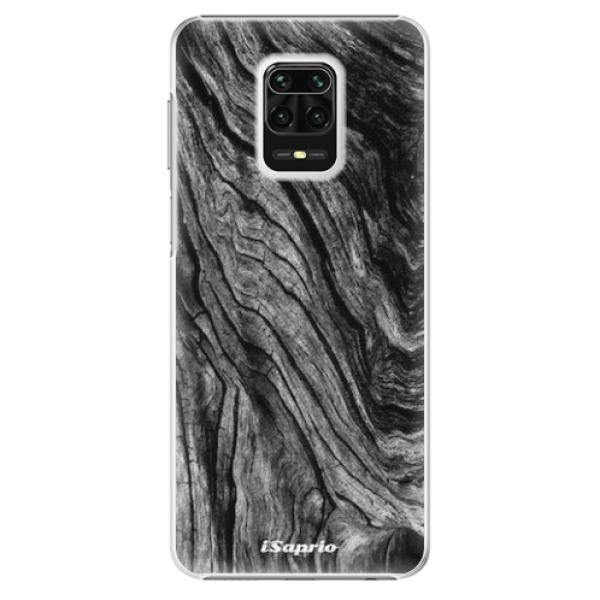 Plastové pouzdro iSaprio - Burned Wood - Xiaomi Redmi Note 9 Pro / Note 9S
