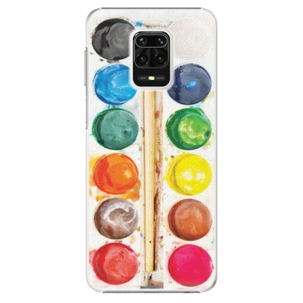 Plastové pouzdro iSaprio - Watercolors - Xiaomi Redmi Note 9 Pro / Note 9S