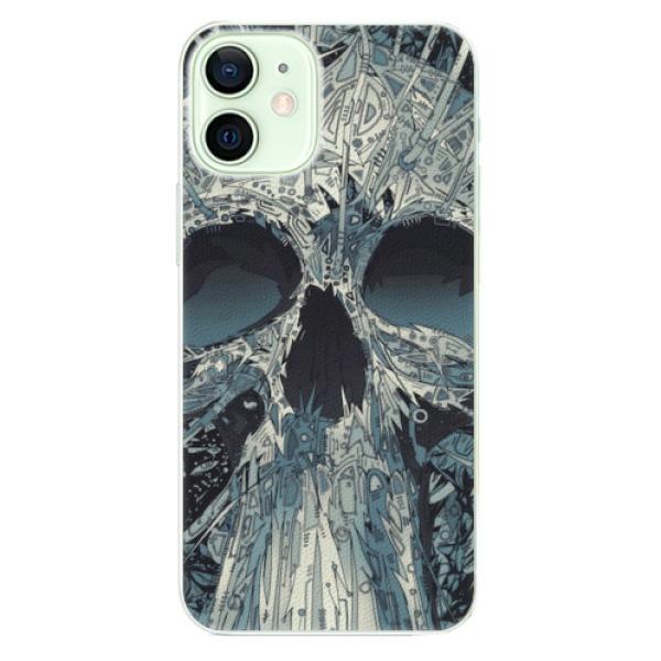 Plastové pouzdro iSaprio - Abstract Skull - iPhone 12 mini