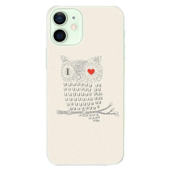 Plastové pouzdro iSaprio - I Love You 01 - iPhone 12 mini