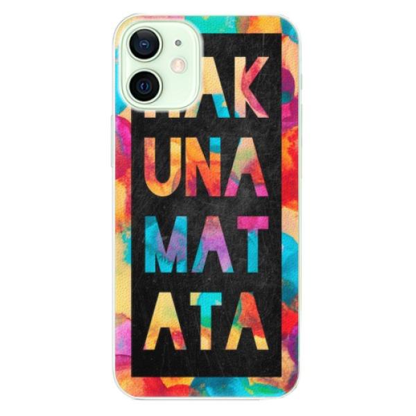 Plastové pouzdro iSaprio - Hakuna Matata 01 - iPhone 12 mini
