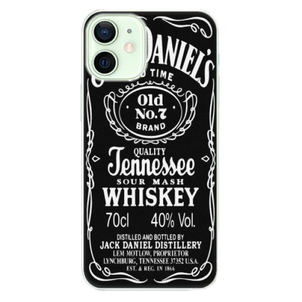 Plastové pouzdro iSaprio - Jack Daniels - iPhone 12 mini