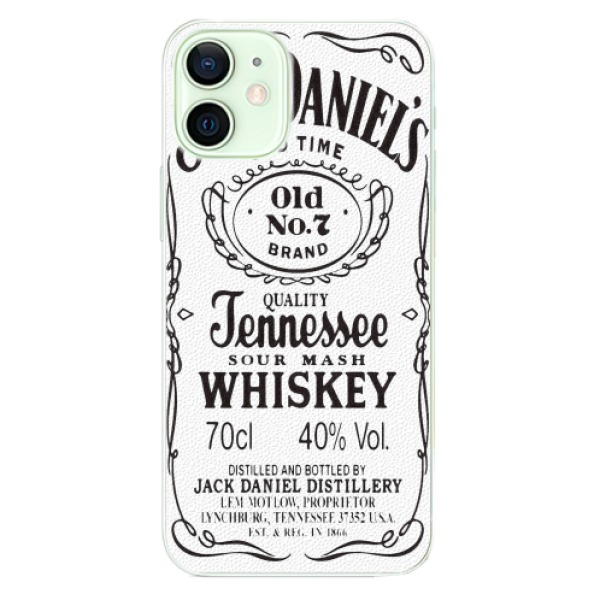 Plastové pouzdro iSaprio - Jack White - iPhone 12 mini