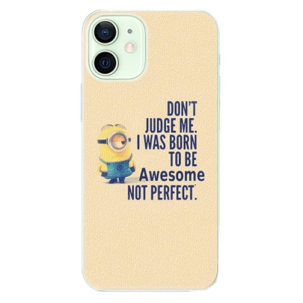Plastové pouzdro iSaprio - Be Awesome - iPhone 12 mini