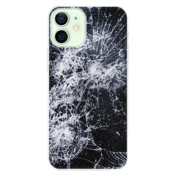 Plastové pouzdro iSaprio - Cracked - iPhone 12 mini