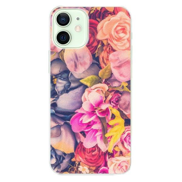 Plastové pouzdro iSaprio - Beauty Flowers - iPhone 12 mini