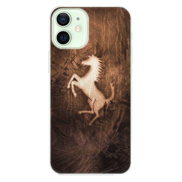 Plastové pouzdro iSaprio - Vintage Horse - iPhone 12 mini