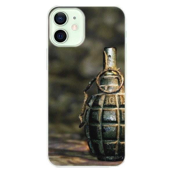 Plastové pouzdro iSaprio - Grenade - iPhone 12 mini