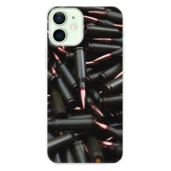 Plastové pouzdro iSaprio - Black Bullet - iPhone 12 mini