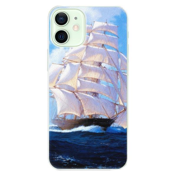 Plastové pouzdro iSaprio - Sailing Boat - iPhone 12 mini