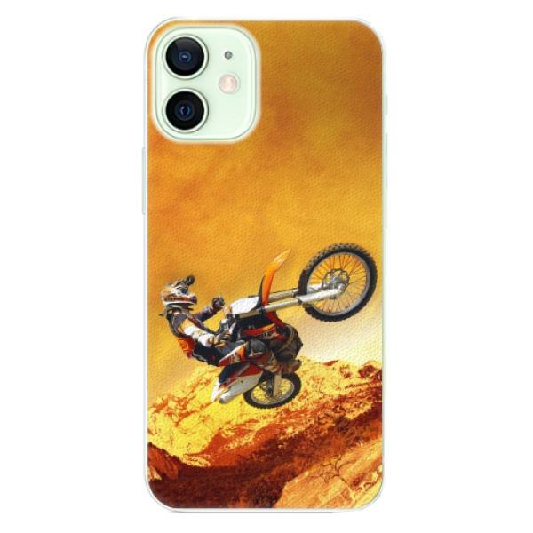 Plastové pouzdro iSaprio - Motocross - iPhone 12 mini