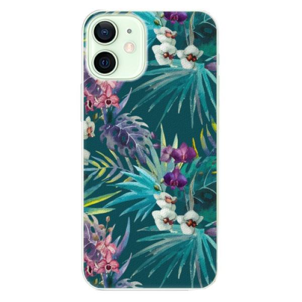 Plastové pouzdro iSaprio - Tropical Blue 01 - iPhone 12 mini