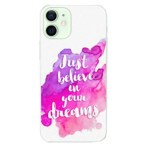 Plastové pouzdro iSaprio - Believe - iPhone 12 mini