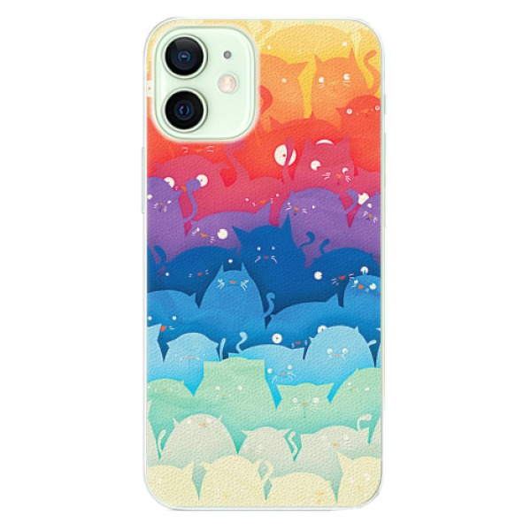 Plastové pouzdro iSaprio - Cats World - iPhone 12 mini