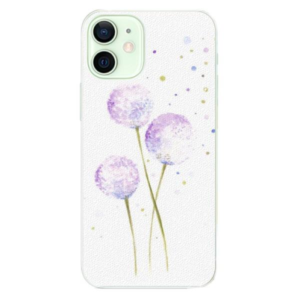 Plastové pouzdro iSaprio - Dandelion - iPhone 12 mini