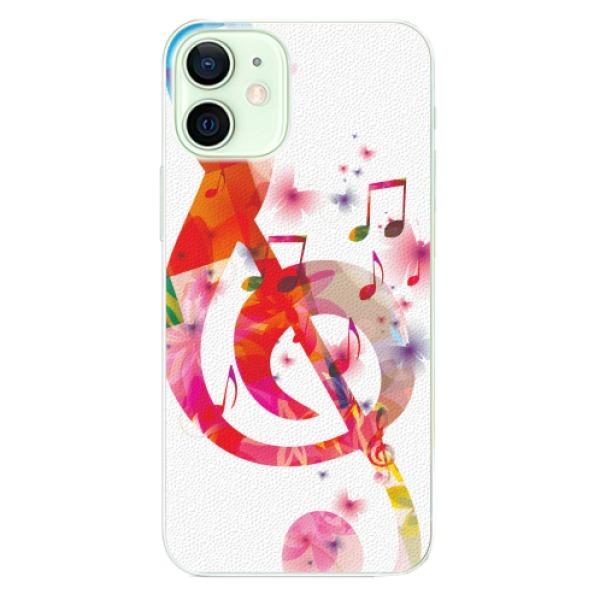 Plastové pouzdro iSaprio - Love Music - iPhone 12 mini