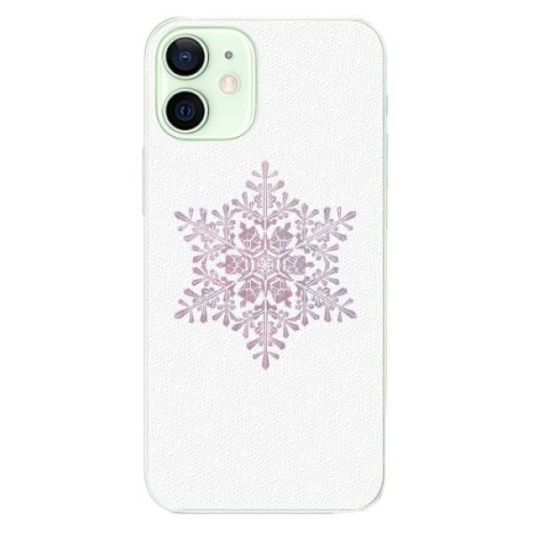 Plastové pouzdro iSaprio - Snow Flake - iPhone 12 mini