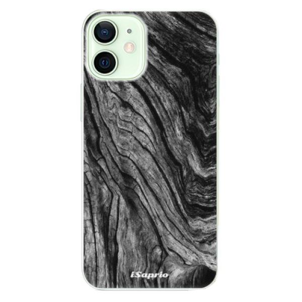 Plastové pouzdro iSaprio - Burned Wood - iPhone 12 mini
