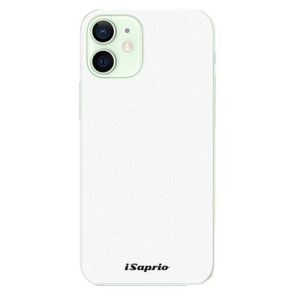 Plastové pouzdro iSaprio - 4Pure - bílý - iPhone 12