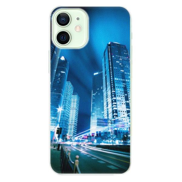 Plastové pouzdro iSaprio - Night City Blue - iPhone 12
