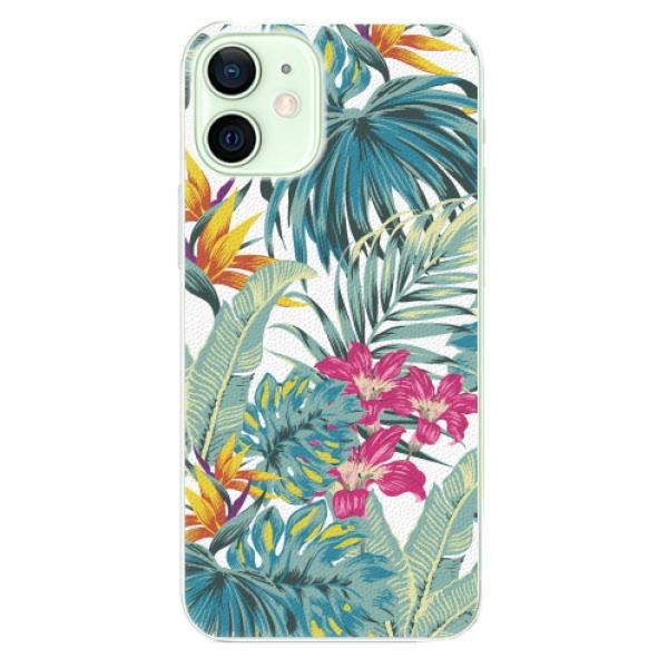 Plastové pouzdro iSaprio - Tropical White 03 - iPhone 12