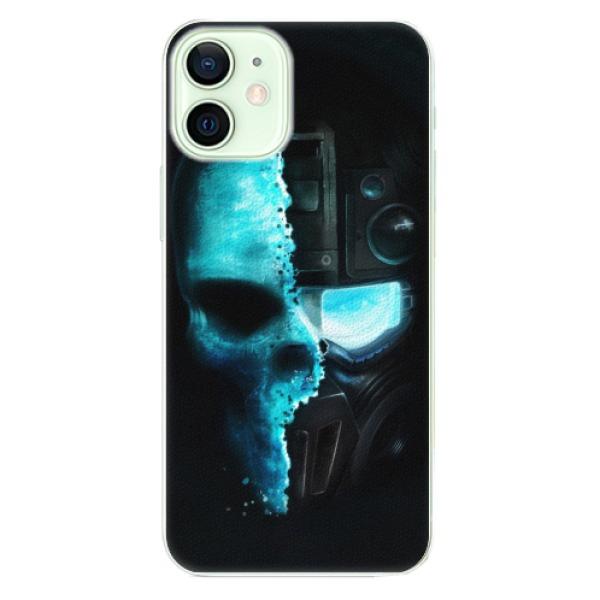 Plastové pouzdro iSaprio - Roboskull - iPhone 12