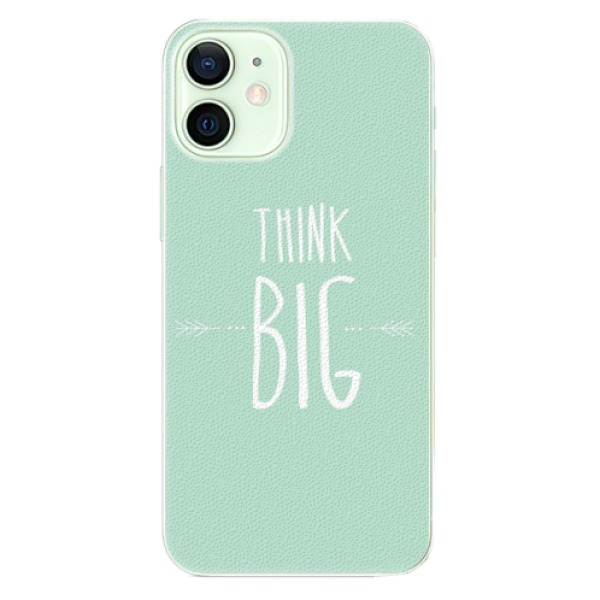 Plastové pouzdro iSaprio - Think Big - iPhone 12