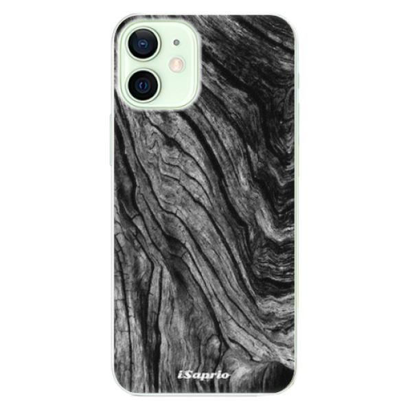 Plastové pouzdro iSaprio - Burned Wood - iPhone 12