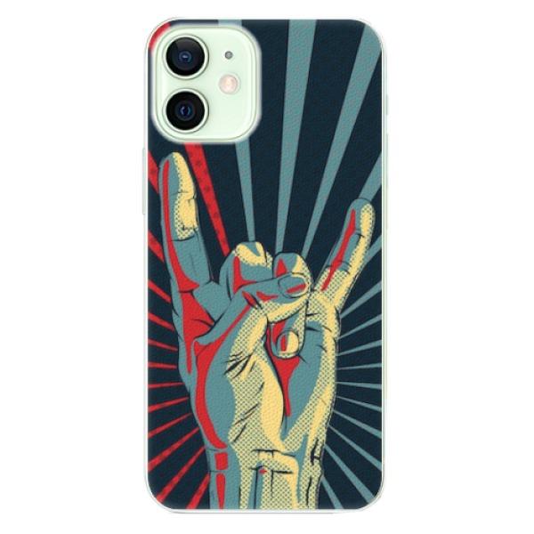 Plastové pouzdro iSaprio - Rock - iPhone 12