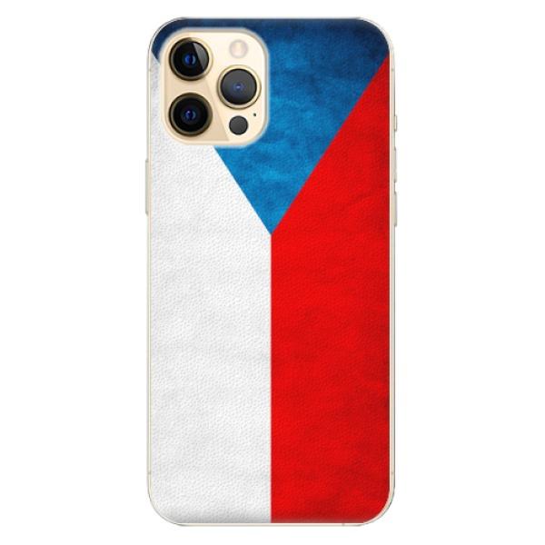 Plastové pouzdro iSaprio - Czech Flag - iPhone 12 Pro