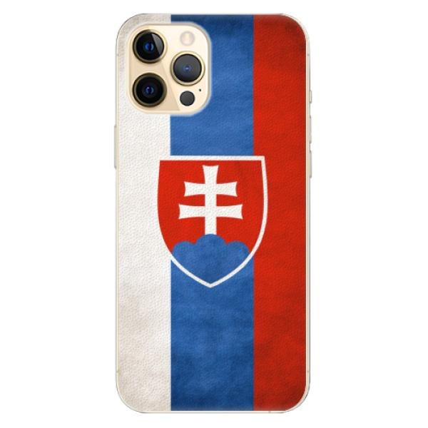 Plastové pouzdro iSaprio - Slovakia Flag - iPhone 12 Pro
