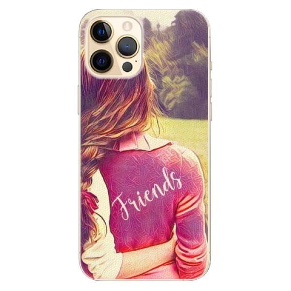 Plastové pouzdro iSaprio - BF Friends - iPhone 12 Pro