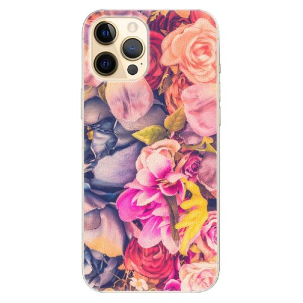 Plastové pouzdro iSaprio - Beauty Flowers - iPhone 12 Pro