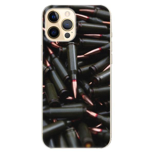 Plastové pouzdro iSaprio - Black Bullet - iPhone 12 Pro