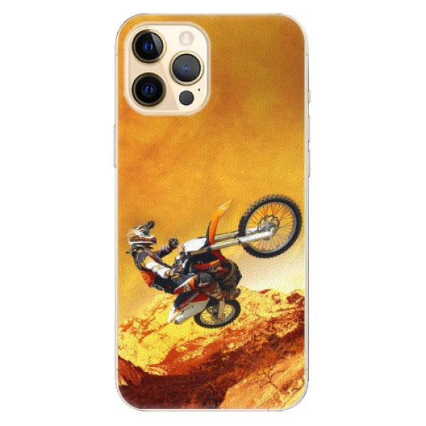 Plastové pouzdro iSaprio - Motocross - iPhone 12 Pro
