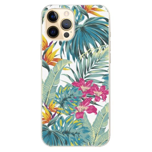 Plastové pouzdro iSaprio - Tropical White 03 - iPhone 12 Pro